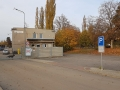 Brána kovošrotu a vstup do VKP
