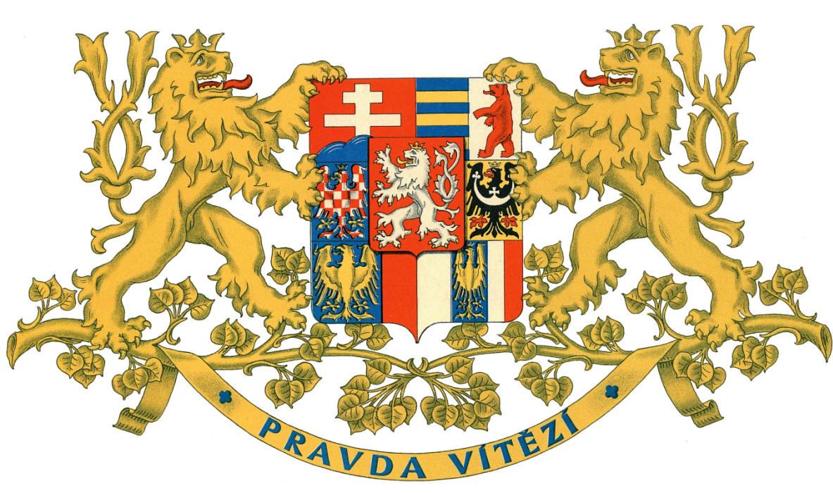 Znak první Československé republiky